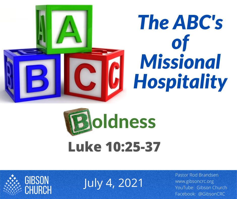 The ABC's of Hospitality–Boldness
